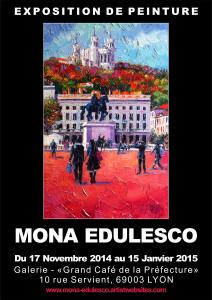 Mona Edulesco Solo Exhibition In Lyon France
